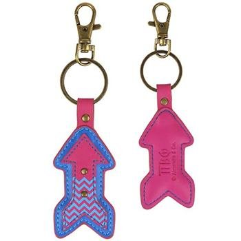 Phi Charm Keychain - Pi Beta Phi - Mascot Key Ring