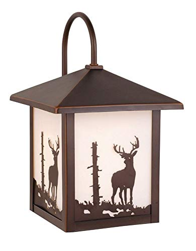 Vaxcel One Light Outdoor Wall Light OW33583BBZ One Light Outdoor Wall Light