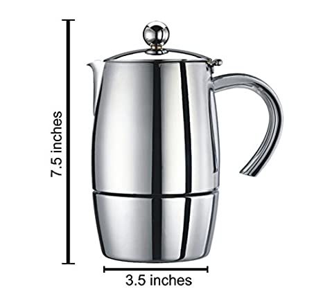 Cuisinox Liberta Espresso cafetera: Amazon.es: Hogar