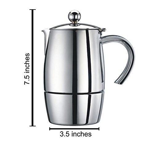 Cuisinox Liberta 6 cup Espresso Coffeemaker by Cuisinox (Image #1)
