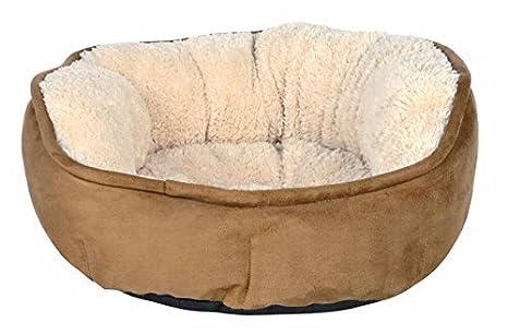 Cama para perros y gatos Othello Marron-Beige Trixie [3 tamaños] .: Amazon.es: Productos para mascotas