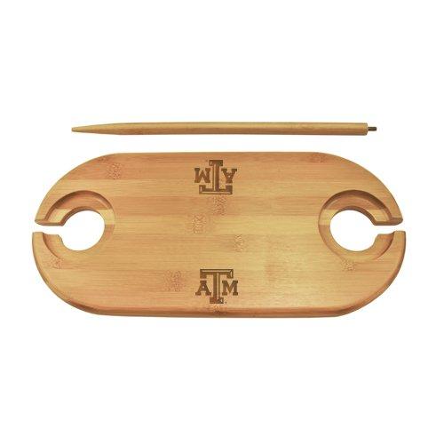 Texas A&M Bamboo Picnic Table