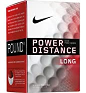 Nike Precision Power Distance Long Golf Balls 1 Dozen