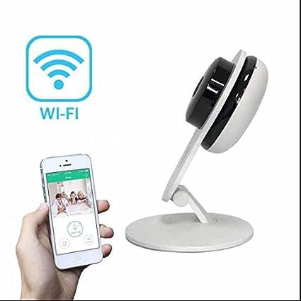 Cámara ip wifi Wireless,Notificación en Tiempo Real,IR-LED,Audio bidireccional