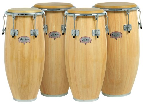 Gon Bops Tumbao Pro Series Quinto, 10.75-inch, Natural by Gon Bops