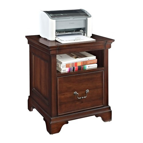 E-Ready Express Harmony File / Printer Stand - Delmont Cherry,Depth (in.) by E-Ready Express