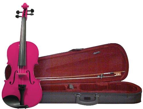 Amazon.com: Merano MV200PNK 4/4 Full Size Color Violin with Case ...
