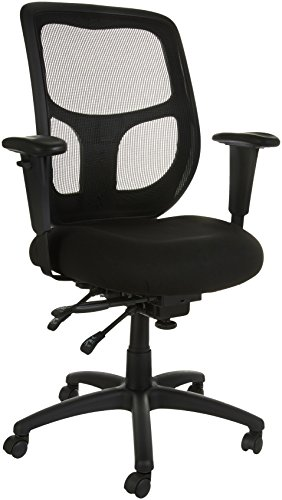 AmazonBasics Mesh Fabric Executive High-Back Chair, Black