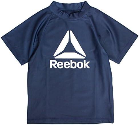 Reebok(リーボック) 半袖 ラッシュガード 子供 水着 キッズ ジュニア UVカット