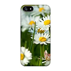 AfO26763QxxZ Nature Flowers White Daisies Fashion 5/5s Cases Covers For Iphone