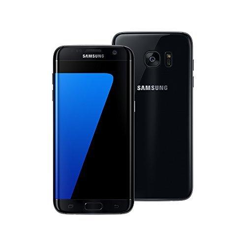 Samsung Galaxy S7 edge SM-G935FD 4GB / 32GB 5.5-inch 4G LTE Dual SIM FACTORY UNLOCKED - International Stock No Warranty (BLACK ONYX)
