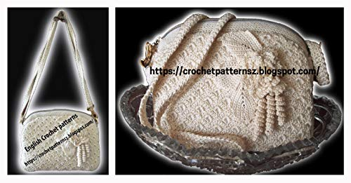 Crochet Patterns: for Classy Bag 762/ How to Crochet/ Crochet Step by Step/ Crochet Patterns for Bags/ Crochet Bag Pattern PDF/ Crochet Bag Pattern Diagram ()