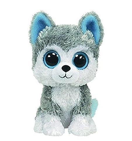 TY Beanie Boos - Slush - Husky (6 inch) Plush Stuffed Toy (Ty Stuffed Husky)