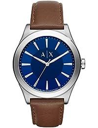 Armani Exchange Men's AX2324 Brown Leather Quartz Watch