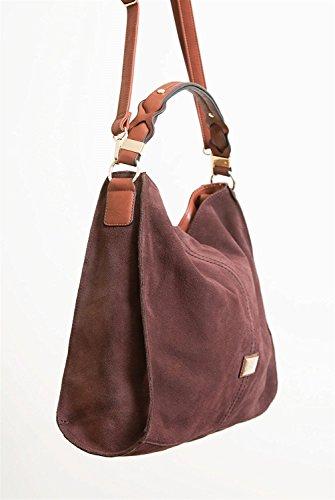 Simply Noelle Vegan Suede Biltmore Hobo Handbag in Black by Simply Noelle (Image #2)
