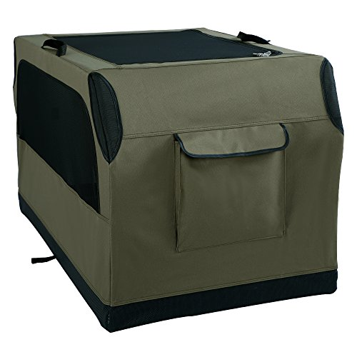 A4Pet Large Collapsible Leakproof Dog Crate with Waterproof Bottom for Large Dog up to 70 pounds by A4Pet (Image #5)