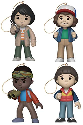 Funko Christmas Tree Ornaments - Stranger Things - Mike, Dustin, Lucas and Will - Set of 4 Figures