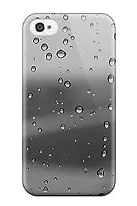 New Tpu Hard Case Premium Iphone 4/4s Skin Case Cover(water Drop)