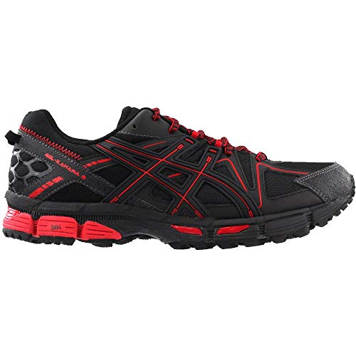ASICS Mens Gel-Kahana 8 Running Shoe Black/Classic Red/Phantom 6 Medium US by ASICS (Image #1)