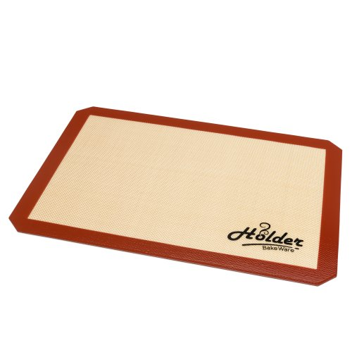 """Holder Bakeware Silicone Baking Mat- Professional Grade Sheet liner - 11-5/8"""" x 16-1/2"""" Great gift Ideas all Year Round- 100% Gaurantee"""
