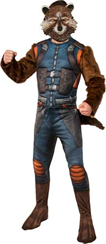 (Rubie's Costume Men's Guardians of The Galaxy Rocket Raccoon Costume, GOTG Vol. 2,)