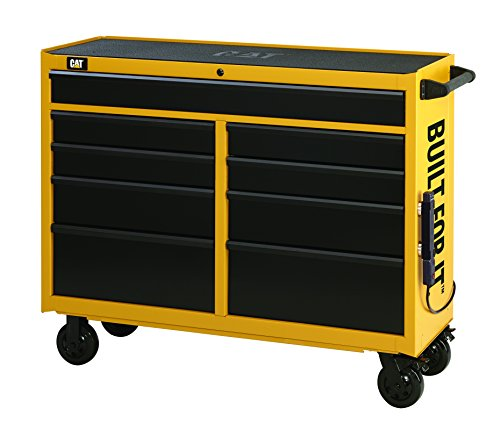 Cat CAT3-IND5209CA 9-Drawer Industrial Rolling Tool Cabinet, 52