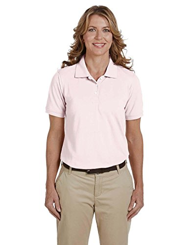 Harriton Ladies' 5 oz. Easy Blend Polo>XL BLUSH M265W