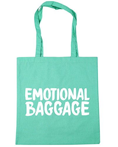 Shopping litres Tote Gym Beach Baggage Bag x38cm 10 Mint Emotional 42cm HippoWarehouse qv4RSw
