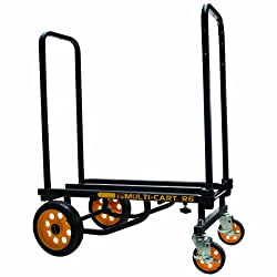 Advantus Multi-cart 8-in-1 Cart, 500 Pound Capacity, Blackyellow (86201)