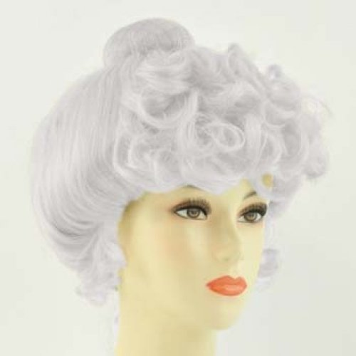 Lacey Mrs. Claus Wigs (Gibson Girl) (Gibson Girl Wig)