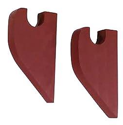 Pair Curtain Rod Red Pine Brackets | Renovator\'s Supply