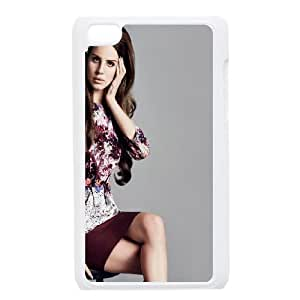 Lana Del Ray iPod Touch 4 Case White Zvkr