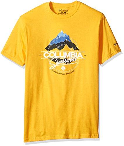 Columbia Apparel Men's Summit T-Shirt, Stinger, XX-Large