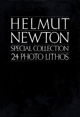 Helmut Newton, special collection, 24 photo lithos (An Xavier Moreau book)