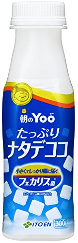 ITO EN morning of Yoo plenty of nata de coco (wide-mouth bottles) 300gX24 this by Morning Yoo