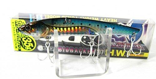 JACKALL(ジャッカル) ルアー ビッグバッカー107HW イワシ/ボーダーホロの商品画像