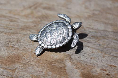 Hastings Pewter Company Sea Turtle Pin lapel pin tie tac hat pin jewelry -