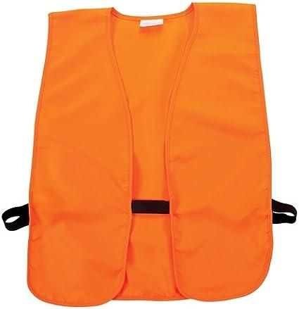 Blaze Orange Hunting Vest One Size Men /& Women Safety Walking Mossy Oak
