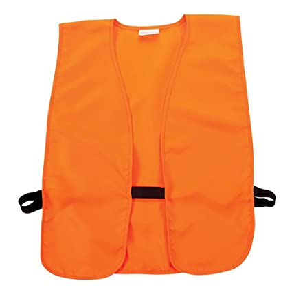 22227b5a5d008 Amazon.com : Allen Blaze Orange Hunting/Safety Vest : Sports & Outdoors