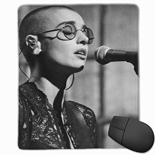 GNonBcalvAes Sinead O'Connor Large Funny Mousepad Gaming Mouse Pad,Waterproof Keyboard Pad Thick Extended Mat for Office/Home&Gamer