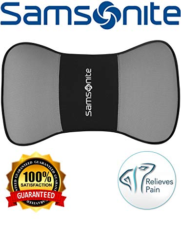 Samsonite SA5249  Travel Pillow for Car, SUV  Helps Relieve Neck Pain & Improve Circulation @% Pure Memory Foam  Fits Most Vehicles by Samsonite (Image #5)