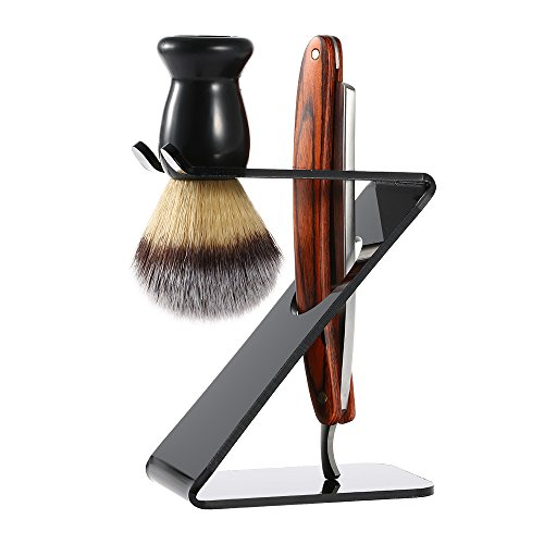 Docooler 3 In 1 Men's Shaving Razor Set - Male Hair Brush