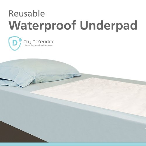 Washable Waterproof Mattress Sheet Protector Bed Underpad - 34 x 36 inches