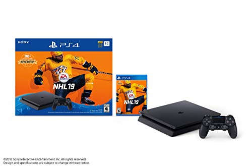 Sony PlayStation 4 1TB Slim – NHL 19 Bundle Edition (Renewed)