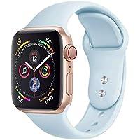 Pulseira Para Apple Watch 38/40mm … (Azul Bebê)