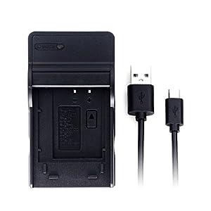 LI-60B Ultra Slim USB Charger for Olympus FE-370 Camera Battery