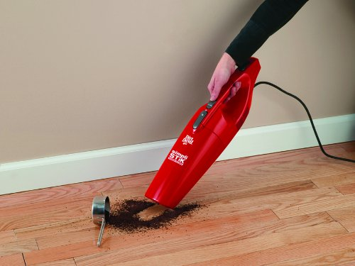 Dirt Devil Simpli-Stik Lightweight Corded Bagless Stick Vacuum, SD20000RED