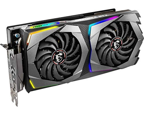 MSI GAMING GeForce RTX 2070 8GB GDRR6 256-bit HDMI/DP/USB Ray Tracing Turing Architecture HDCP Graphics Card (RTX 2070 GAMING 8G), 1620 MHz