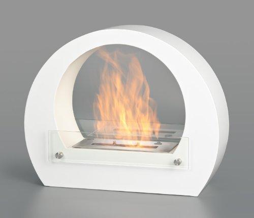 Bio Ethanol Wall Fireplace Cheminee Gel Fireplace Gel Fireplace Fireplace Table Fireplace - Amsterdam White DRULINE