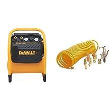 DEWALT DWFP55130 Heavy Duty 200 PSI Quiet Trim Compressor & California Air Tools 376 Air Tool Accessory Kit, 14-Piece